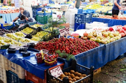 Рынки в Алании Турция базары