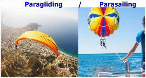 Alanya Paragliding or Parasailing