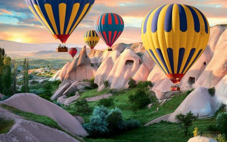 How to book a hot air balloon flight in Cappadocia