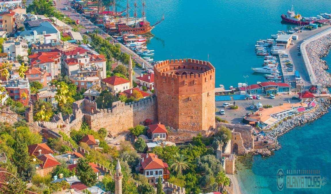 Основные достопримечательности в Алании Турция