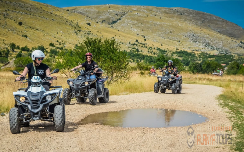 Taurus Mountains by quad bikes
