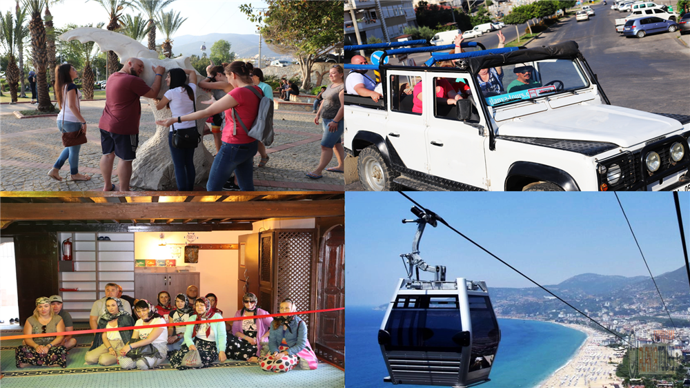 Alanya sightseeing tour with cable car