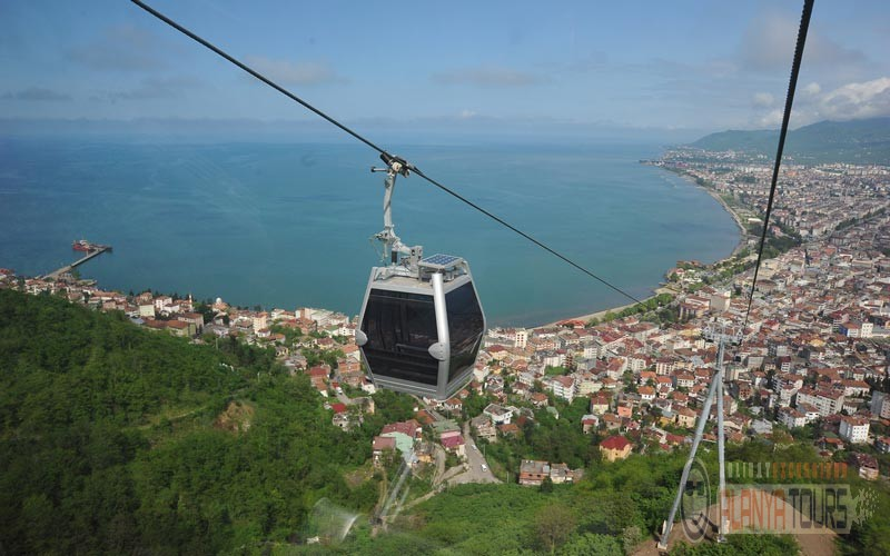 Cable car in Alanya funicular teleferik price how to get 2021