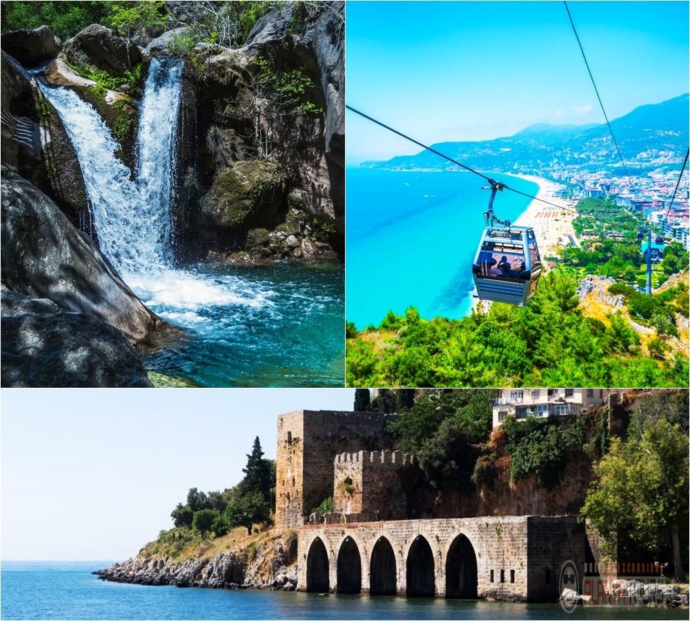 Major Sights in Alanya Turkey