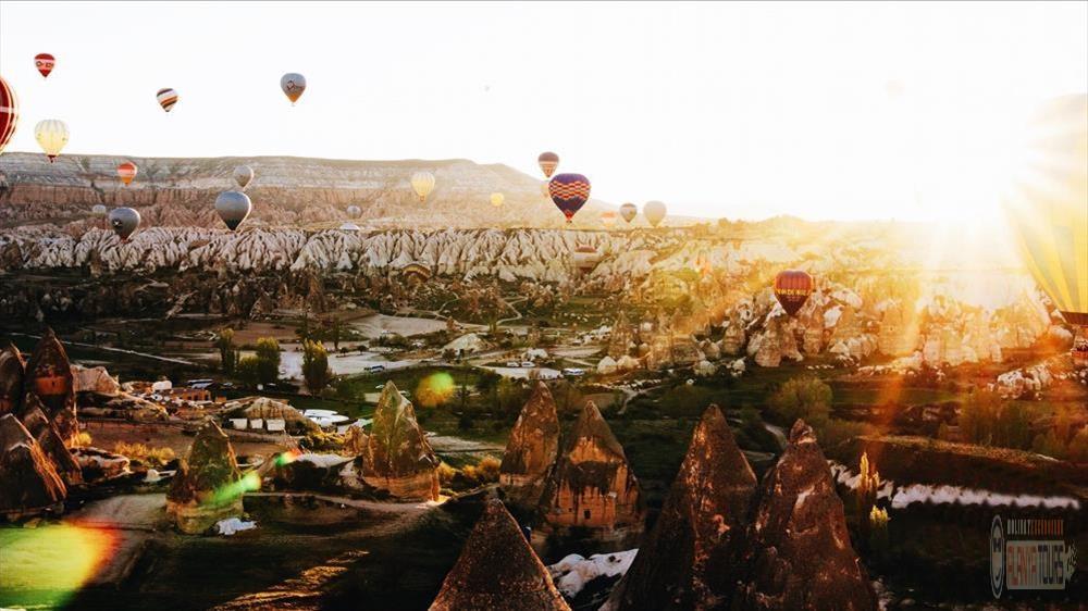 Mysterious beauty of Cappadocia