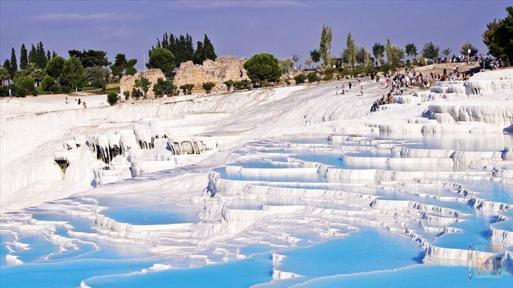 Pamukkale in Turkey