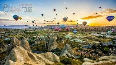 Tour to Cappadocia from Incekum (2 days)