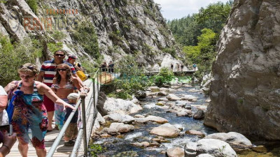 Sapadere Canyon in Alanya