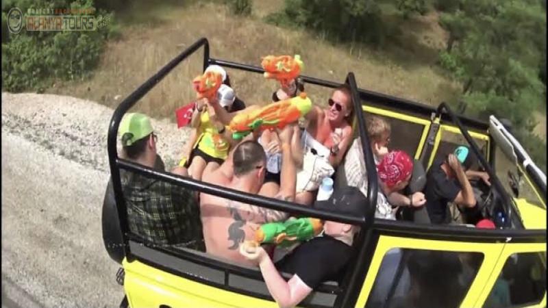 4 in 1 Alanya Jeep Safari (Jeep safari with kids)