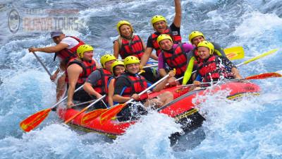 Rafting in Incekum