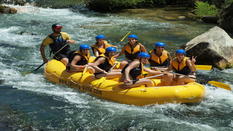 Rafting in Alanya