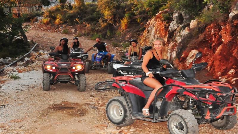 Quad bike safari in Alanya