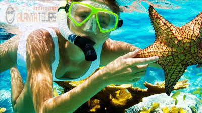 Fishing-snorkeling boat tour in Alanya