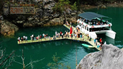Green canyon boat tour from Kargicak