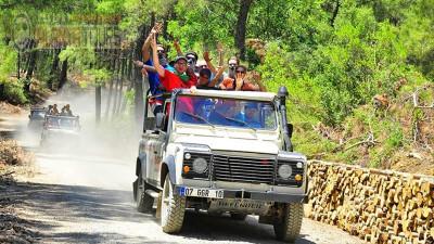 Green Canyon jeep safari