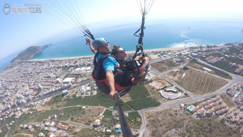 Paragliding in Alanya