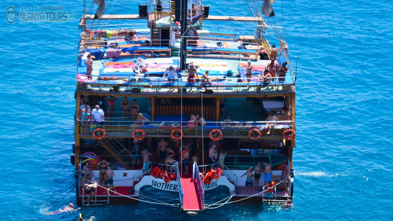 Alanya Katamaran Tekne Turu