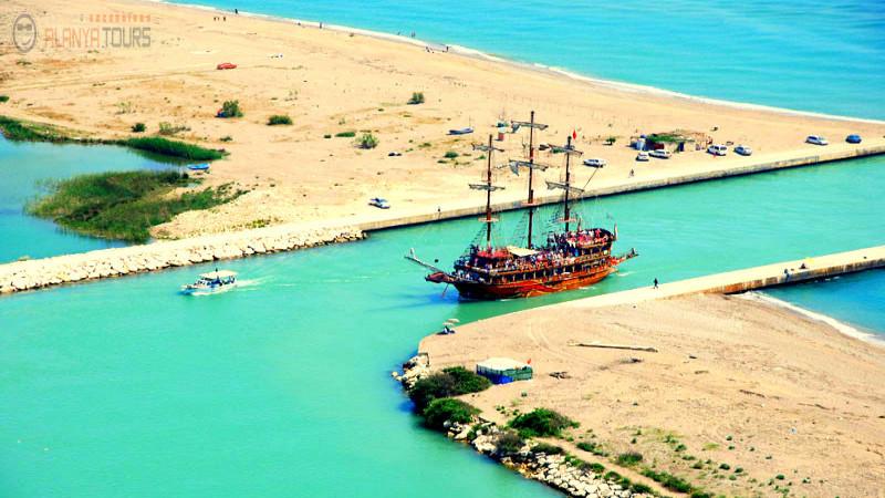 Alanya'dan  Manavgat Tekne Turu
