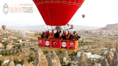 Excursion to Cappadocia from Incekum for three days