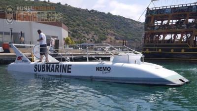 Submarine tour in Incekum