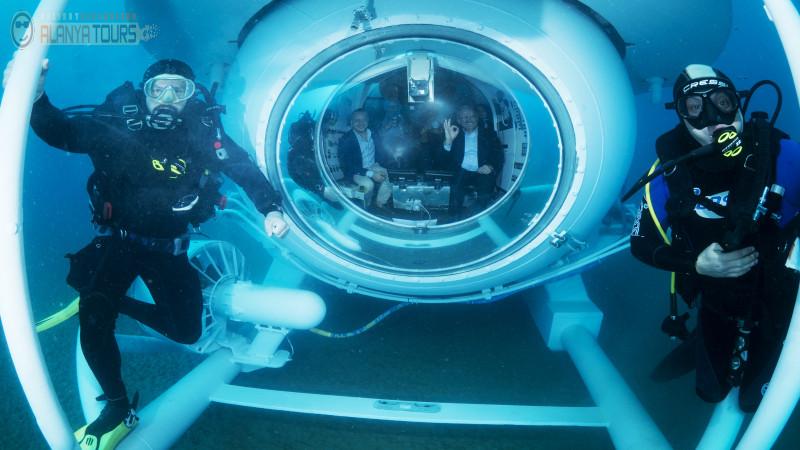 Подводный тур в Алании