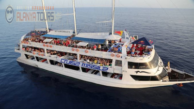 Incekum Boat tour (yacht Starcraft)