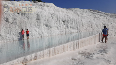 Tour to Pamukkale from Incekum is two days