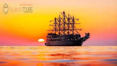 Incekum sunset boat tour