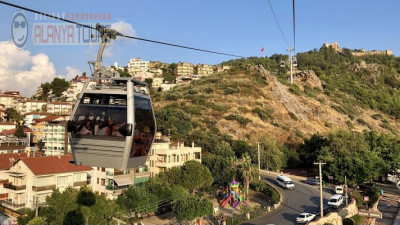City tour with cable car in Alanya