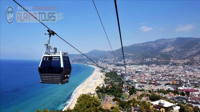 City tour with cable car in Alanya from Incekum