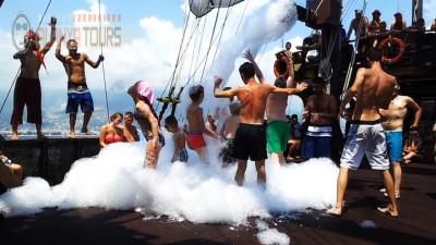 Pirate ship in Alanya